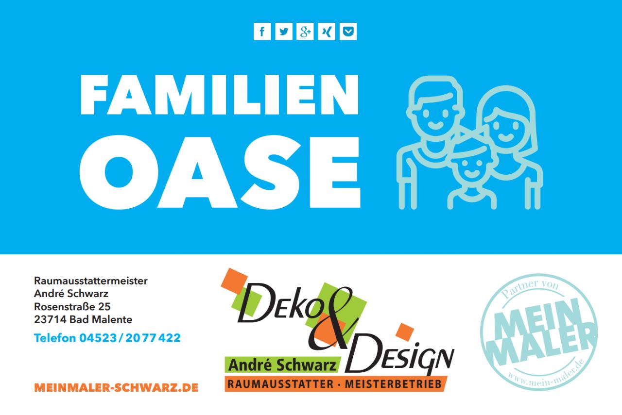 Familienoase MeinMaler Schwarz