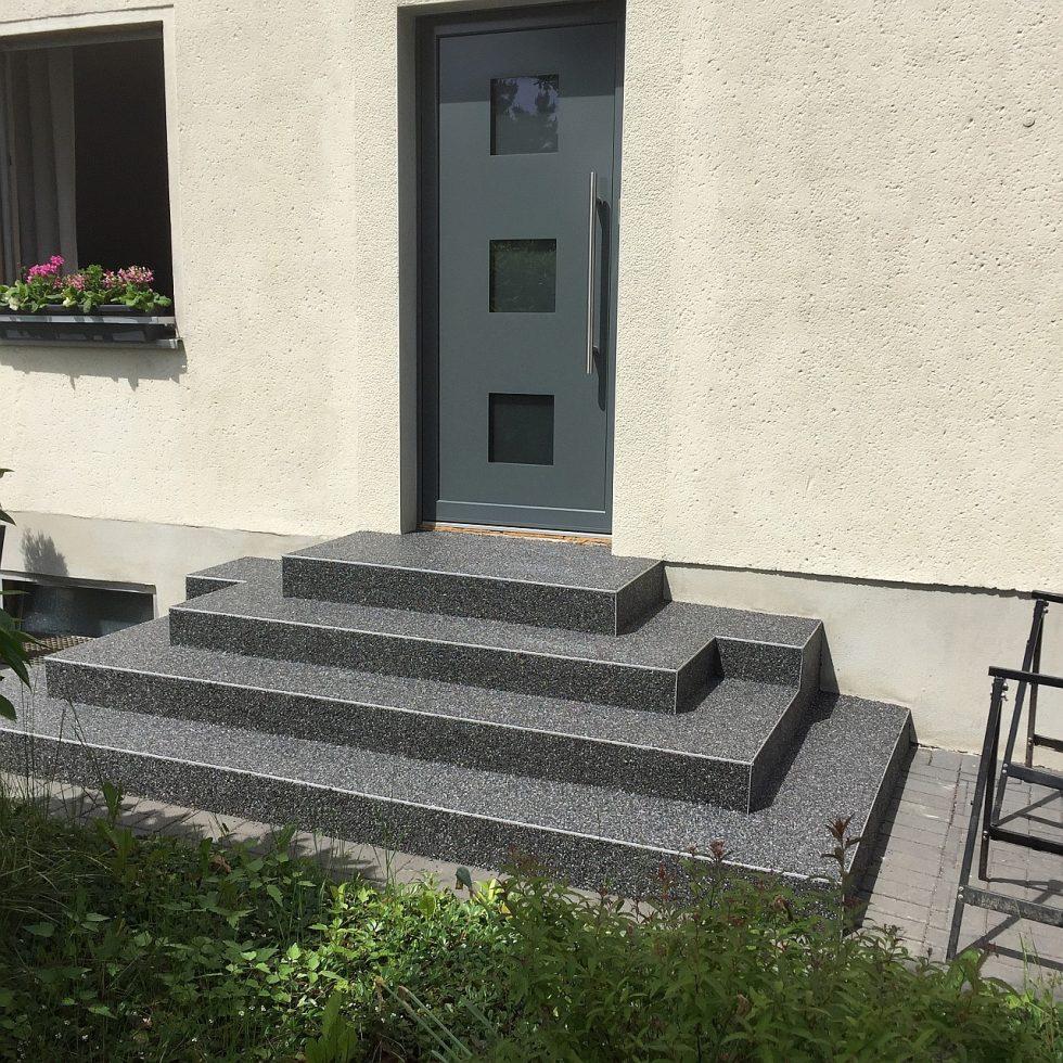 Wemgo Steinteppiche Natursteinboden fugenloses Bodensystem 11