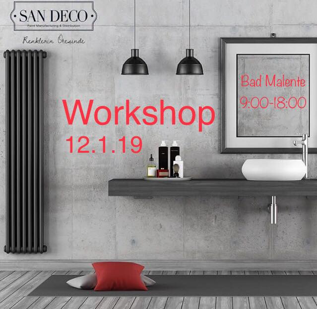 Workshop San Deco Januar 2019