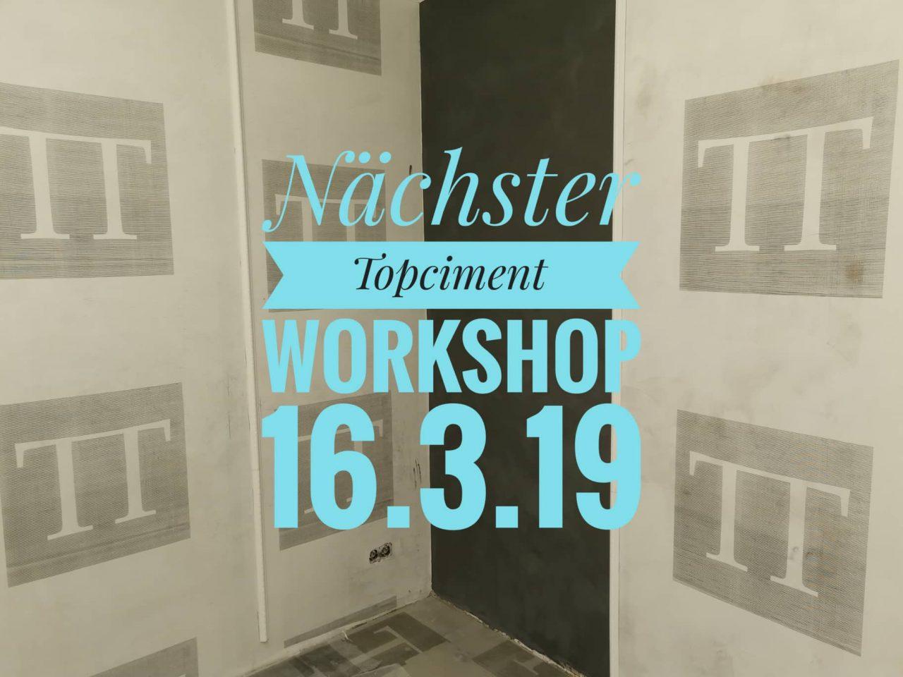 TopCiment Workshop Maerz 2019