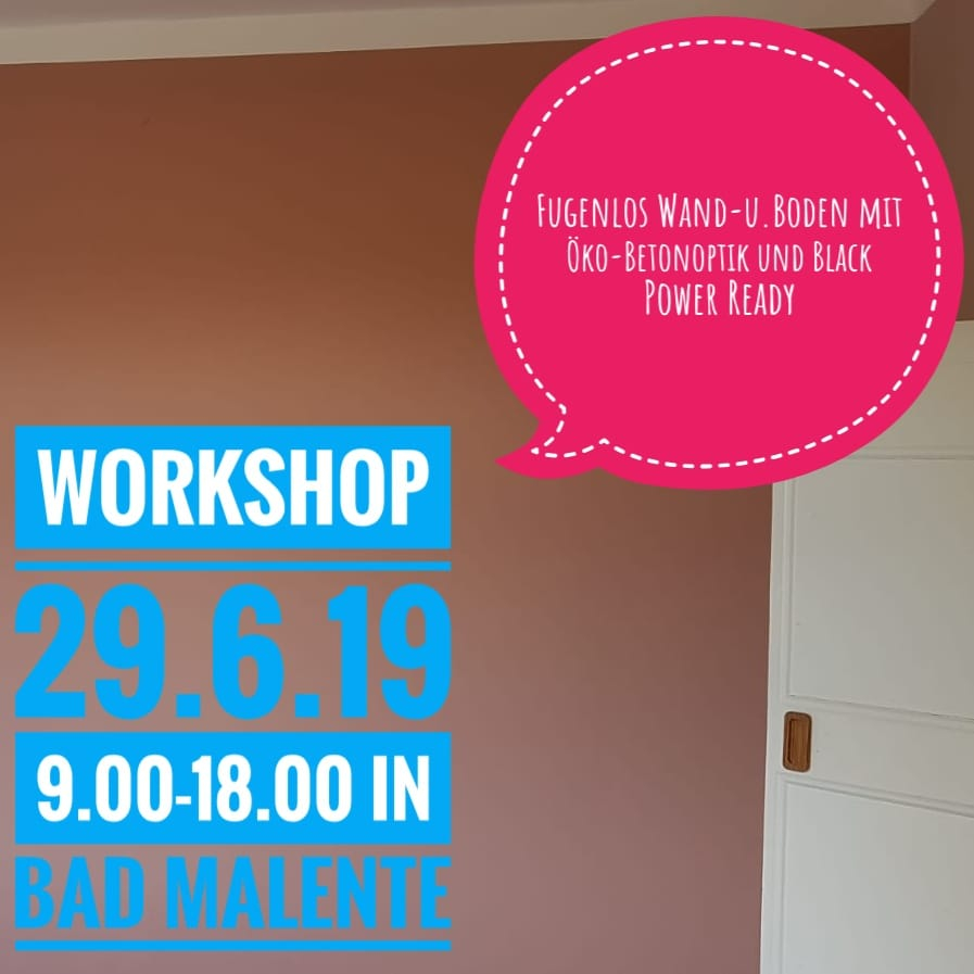 Workshop Spachteltechnik Bad Malente Juni 2019