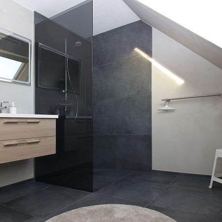 Badrenovierung in Oldenburg Fliesen Spachteltechnik Fugenlos MeinMaler
