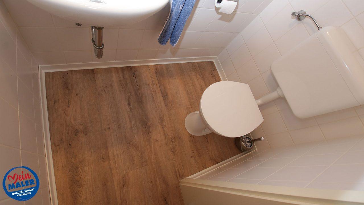 Gaeste WC Bodenbelag Oldenburg Green Flor 01