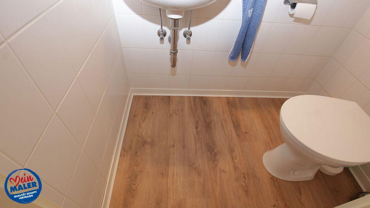 Gaeste WC Bodenbelag Oldenburg Green Flor 03