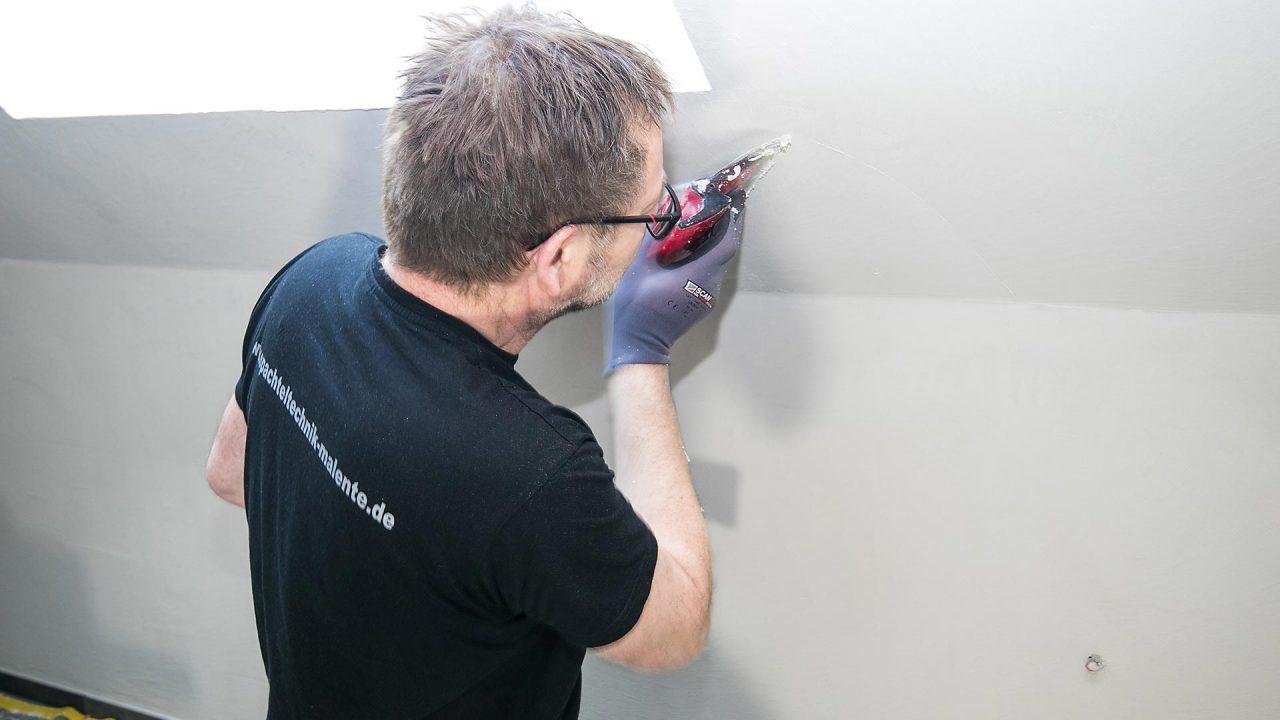 Spachteltechnik Malente Fugenlos Bad Badezimmer Wandgestaltung 16