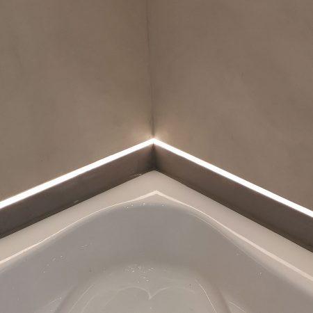 Fugenloses Bad Spachteltechnik Hamburg Badezimmer Dusche Boden Malente 03b