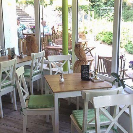 Spachteltechnik und Bodenlagsarbeiten - Restaurant Gleis 3 in Bad Malente