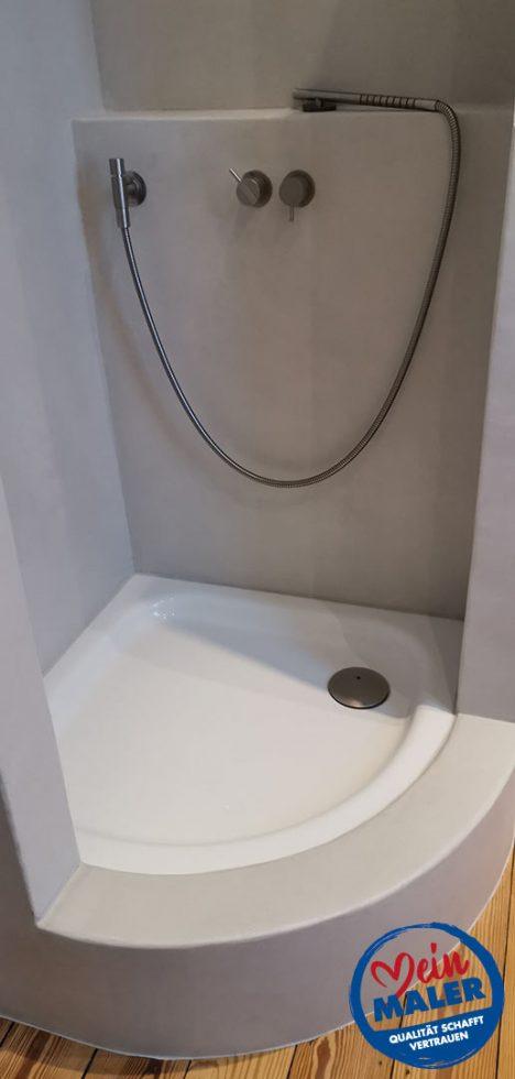 Fugenlose Spachteltechnik Bad Malente Dusche ohne Fliesen Eutin Kiel Hamburg 10