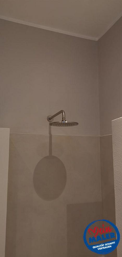 Fugenlose Spachteltechnik Bad Malente Dusche ohne Fliesen Eutin Kiel Hamburg 11