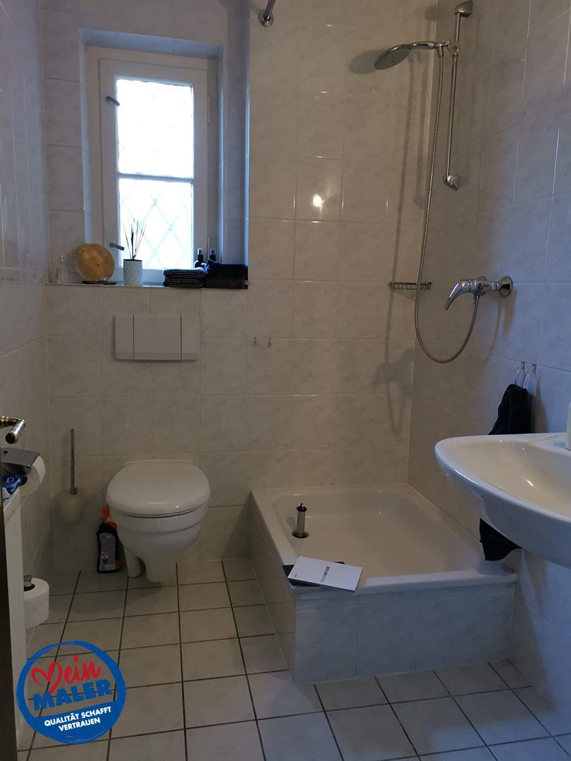 Gaeste WC Fugenlos spachtel Bad Malente Wandgestaltung Eutin Kiel Hamburg 01