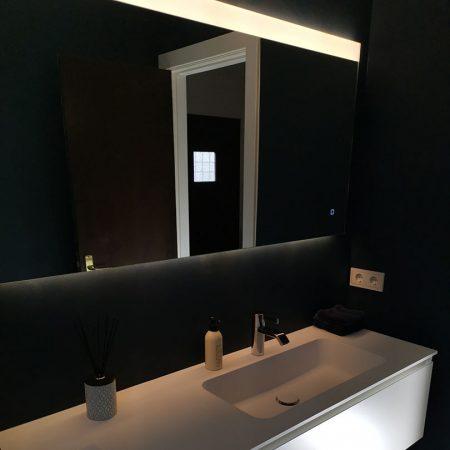 Gaeste WC Fugenlos spachtel Bad Malente Wandgestaltung Eutin Kiel Hamburg 07